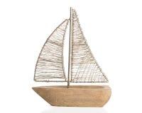 Zabawkarska łódź Obraz Royalty Free