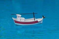 Zabawkarska łódź Obrazy Royalty Free