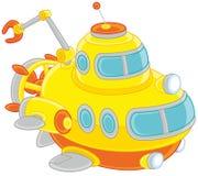 Zabawkarska deepsea łódź podwodna Obrazy Royalty Free