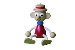 Zabawkarska figurka odizolowywająca Zdjęcia Stock