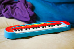 Zabawkarska klawiatura zdjęcie royalty free