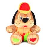 Zabawkarska psina w kolorowej nakrętce Zdjęcia Royalty Free
