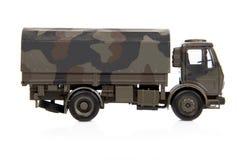Zabawkarska wojny ciężarówka zdjęcie royalty free