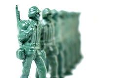 Zabawkarski żołnierz obraz stock