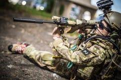 Zabawkarski żołnierz Zdjęcie Stock