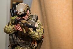 Zabawkarski żołnierz Zdjęcie Royalty Free