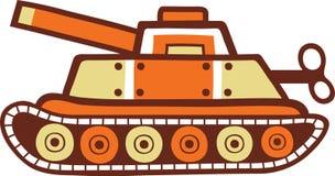 Zabawkarski Cysternowy wojskowy Zdjęcia Stock