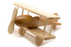 zabawkarski drewniany Zdjęcia Stock