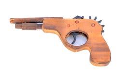 Zabawkarski drewno pistolet Obrazy Royalty Free