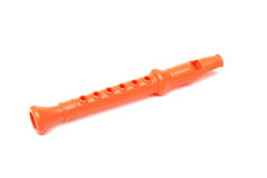 Zabawkarski flet dla dzieciaka Fotografia Stock