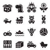 Zabawkarski ikona set Fotografia Stock