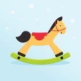 Zabawkarski koń royalty ilustracja