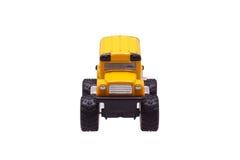 Zabawkarski kolor żółty samochód Obraz Royalty Free