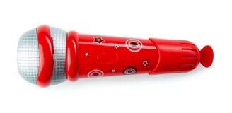 Zabawkarski mikrofon Fotografia Stock