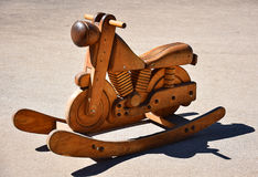 Zabawkarski motocykl Obrazy Royalty Free
