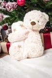 Zabawkarski niedźwiedź jako prezent zdjęcie royalty free