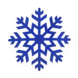 Zabawkarski płatek śniegu odizolowywający obrazy stock