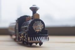 Zabawkarski parowego silnika model obraz royalty free