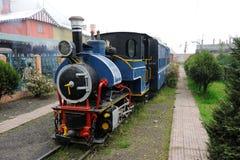 Zabawkarski pociąg w Darjeeling, India obraz royalty free