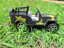 zabawkarski pojazd wojskowy obraz stock
