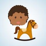 Zabawkarski projekta, dzieciństwa i gry pojęcie, Zdjęcia Stock