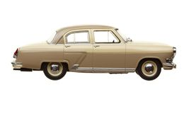 Zabawkarski retro samochód Obraz Royalty Free