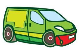 Zabawkarski samochód dostawczy Zdjęcie Stock