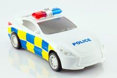 Zabawkarski samochód policyjny Zdjęcie Stock