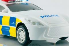Zabawkarski samochód policyjny Zdjęcia Stock