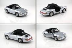 Zabawkarski samochodowy Porsche 911 Zdjęcia Royalty Free