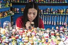 Zabawkarski sklep, Suzhou Obrazy Royalty Free