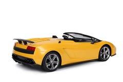 Zabawkarski sportowy samochód Zdjęcie Royalty Free