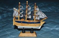 Zabawkarski statek Fotografia Royalty Free