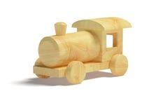 zabawkarski taborowy drewniany Zdjęcia Royalty Free