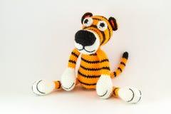 Zabawkarski tygrys Zdjęcie Stock