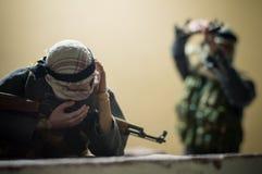 Zabawkarskiego żołnierza błogosławieństwo Zdjęcie Royalty Free
