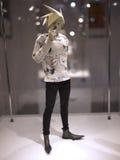 ZABAWKARSKIEJ duszy 2015 3A postaci Przyszłościowa chłopiec Andy Warhol Obraz Stock