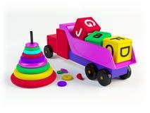 Zabawki royalty ilustracja