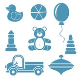 Zabawki dla Dzieciaków Zdjęcie Royalty Free