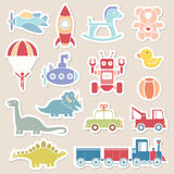 Zabawki ikony kolor Obraz Stock