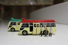 zabawki minibus zdjęcia stock