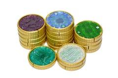 Zabawki monety transformata zdjęcie stock