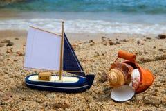 Zabawki przy plażą zdjęcia royalty free