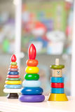 Zabawki w rynku Fotografia Stock