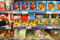 Zabawki w sklepie zdjęcia stock