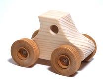 zabawkowy samochód drewniane Obrazy Stock
