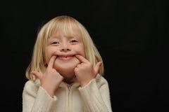 zabawna dziewczyna Obraz Royalty Free