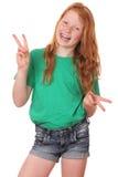 zabawna dziewczyna Zdjęcia Stock