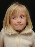 zabawna dziewczyna Obrazy Royalty Free