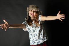 zabawna dziewczyna Zdjęcie Royalty Free